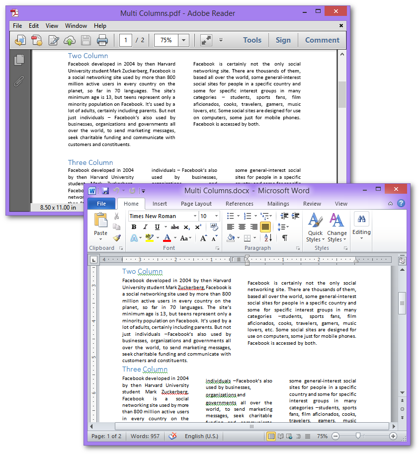 Gnostice Document Studio  NET - WinForms, WPF, ASP NET