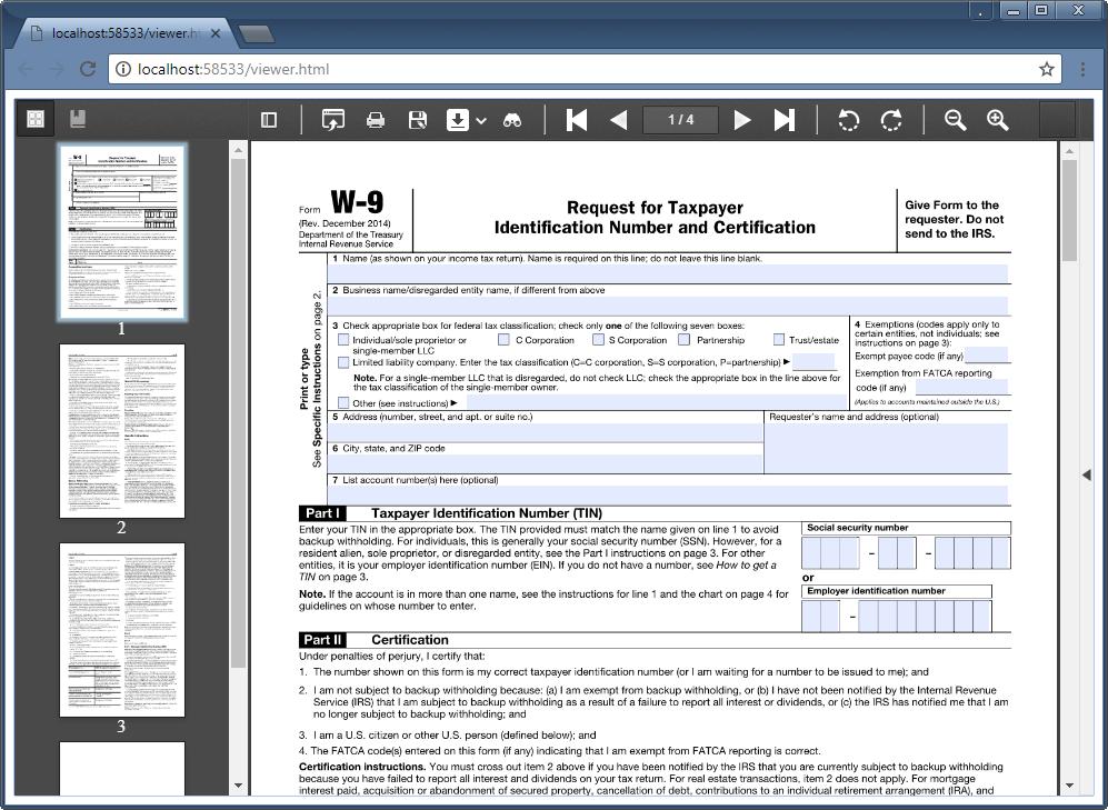 Gnostice Document Studio  NET - WinForms, WPF, ASP NET