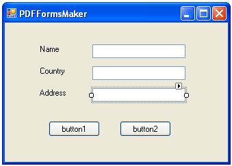 Use Visual Studio To Create and Design PDF Forms (AcroForms