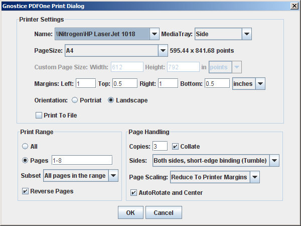 How to Print a PDF Document in Java