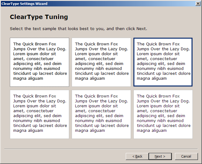 Is ClearType Enabled On Your Windows XP Desktop?