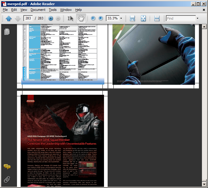 merge pdf files into one document