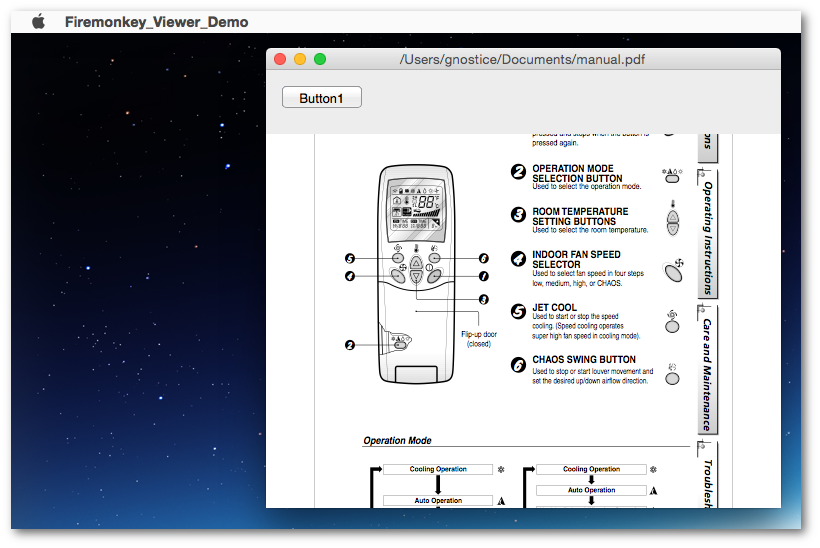 A multi-format FireMonkey document viewer for iOS, Android