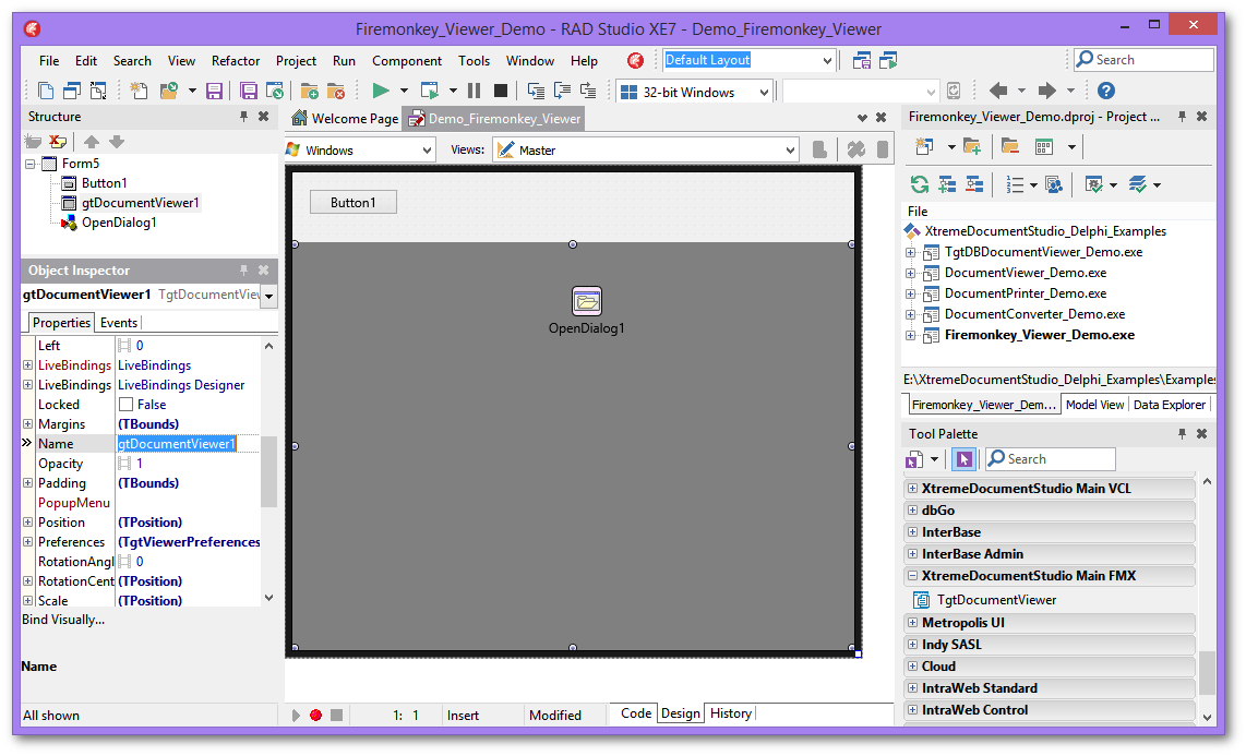 2014-12-XtremeDoentStudio-Delphi-Firemonkey-Viewer-Project Template Application Android Studio on android master-detail flow, android interface, android home icon,