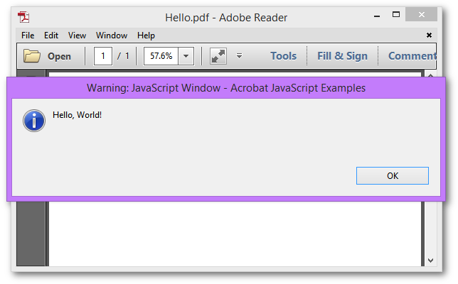 an acrobat javascript primer with simple pdf examples rh gnostice com