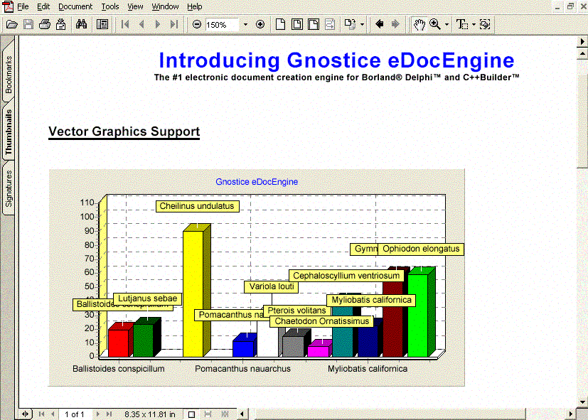 Click to view Gnostice eDocEngine VCL 4.0.0.213 screenshot