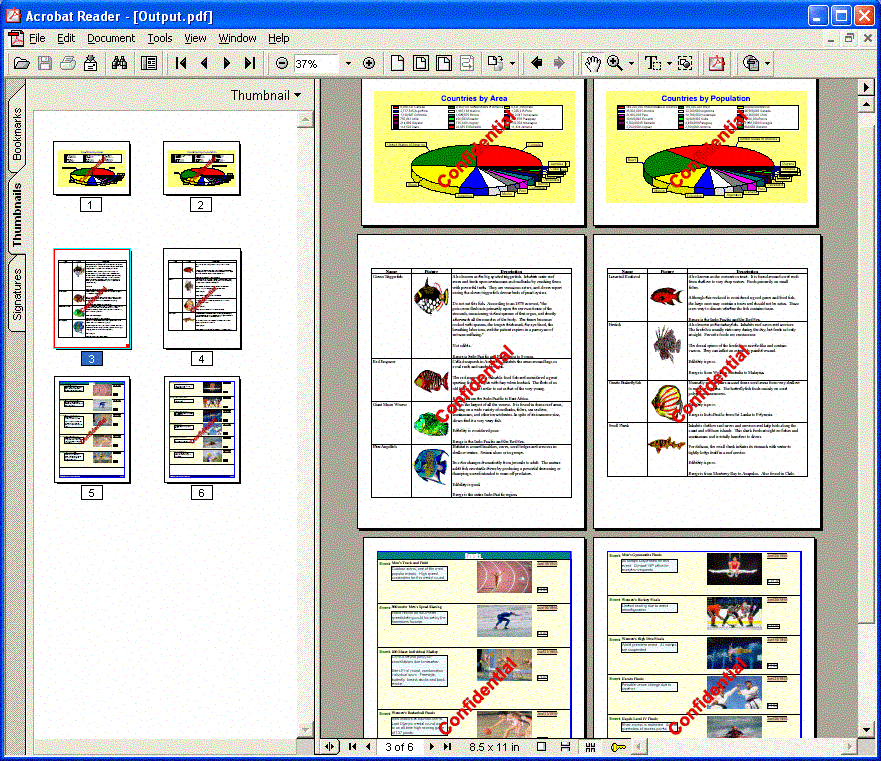 Gnostice PDFtoolkit VCL Screen shot